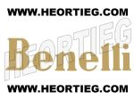 BENELLI TANK TRANSFER DECAL GOLD - D54012-3